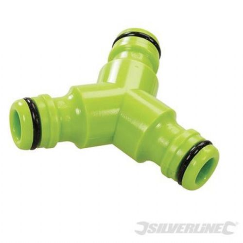 Silverline Tools 3 Way Hose Connector 1/2''